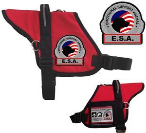 Premium Padded ESA Vest - Emotional Support Dog with ...