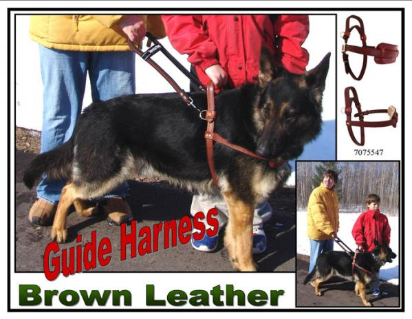 Ad on Real Leather Dog Harness