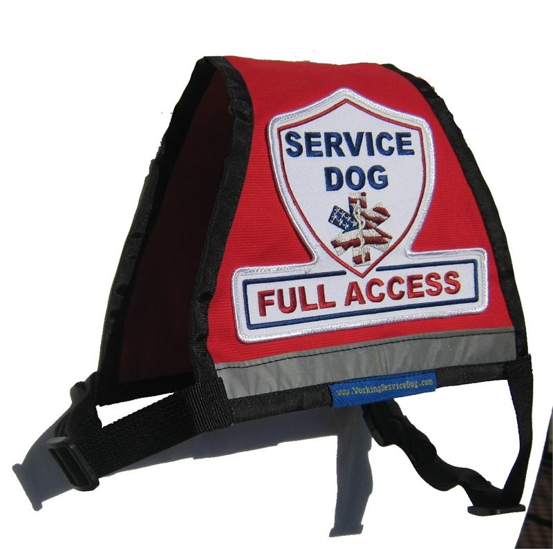 Premium Ready To Wear Reflective Service Dog Vest With