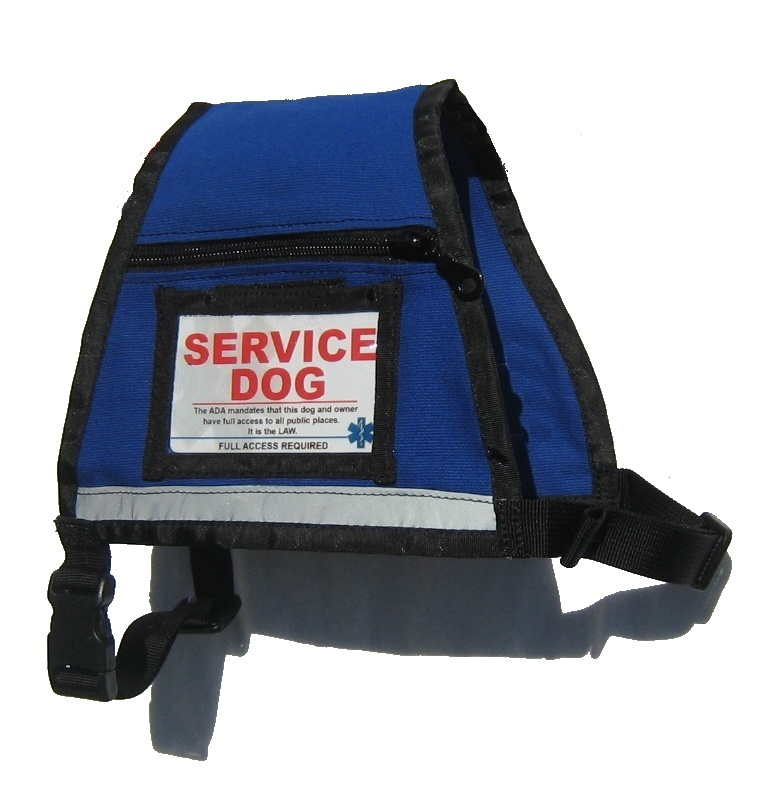 Orange Vest For Service Dog