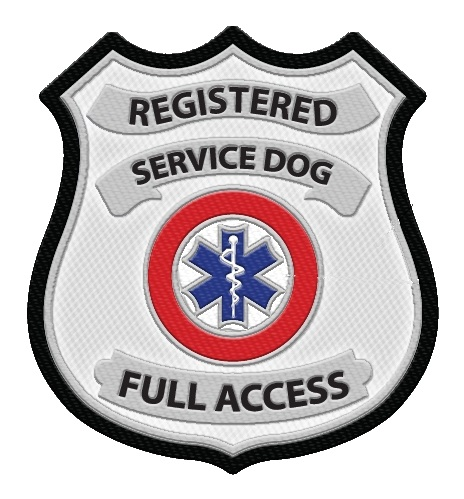 Registered Service Dog Symbol