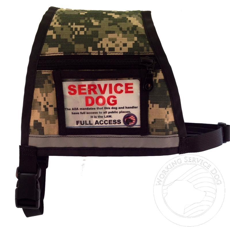 Camouflage Service Dog Vest