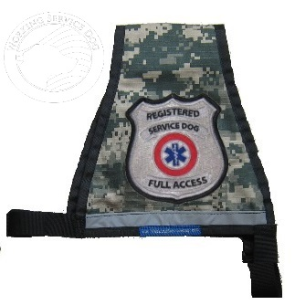 Premium Ready To Wear Reflective Registered Service Dog