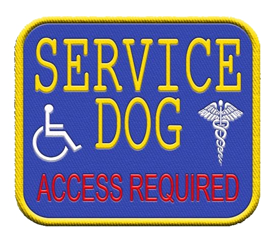 Access Required Patch With Medical Logos