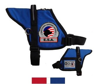 padded emotional support dog vest