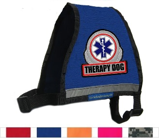 therapy dog vest for larger dogs