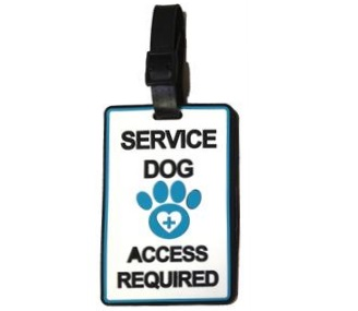 service dog id card holder