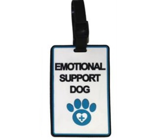 emotional support dog id holder