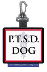 PTSD DOG Patch Tag