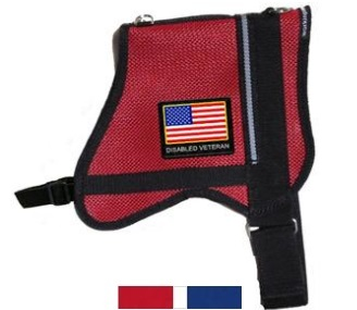 disabled veteran mesh dog vest