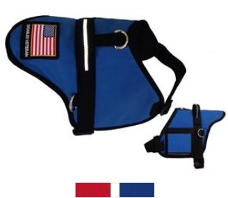 padded disabled veteran dog vest