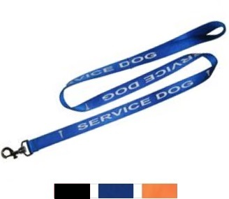 service dog imprinted leash