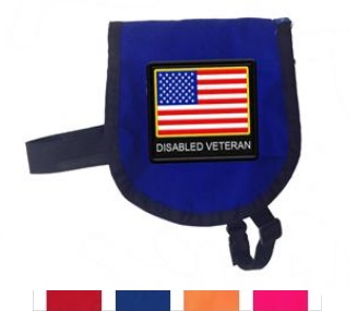 diaabled beteran small dog vest