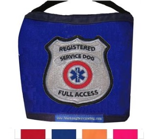 registered service dog vest small dog