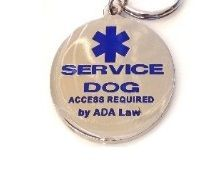 service dog full access tag for dogs collar