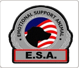 emotional support animal  patch for vest