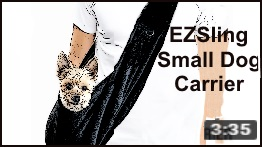 ezsling small dog carrier