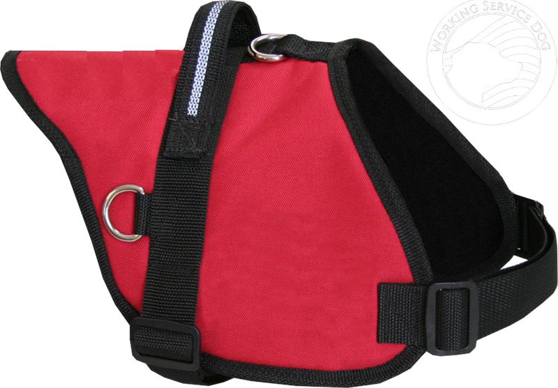 padded service dog vest u0026 id badge holder official padded service dog vest