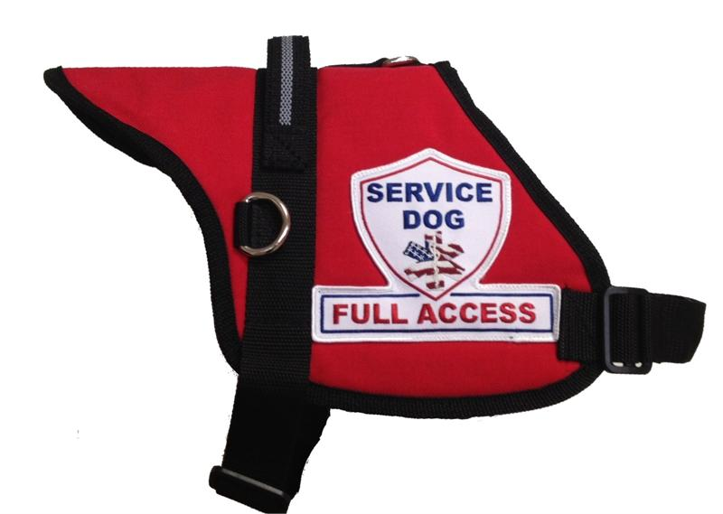 Premium Padded Service Dog Vest With Id Official Padded Service