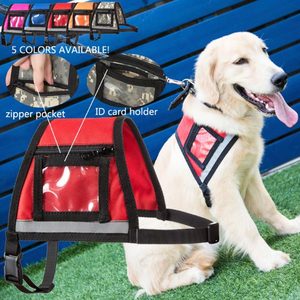 Reflective Service Dog Vest | Includes