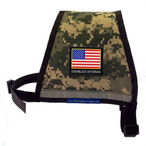 Camouflage - DISABLED VETERAN Reflective Service Dog Vest