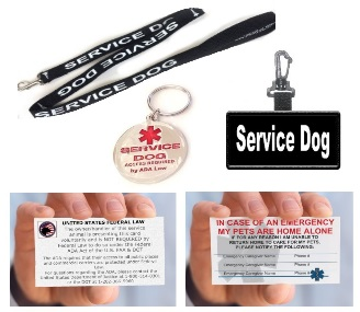 Service Dog Accessory Bundle
