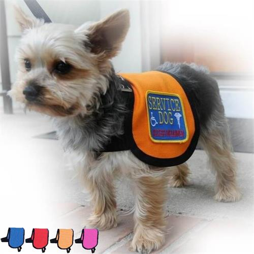 service dog cape vest for small dogs