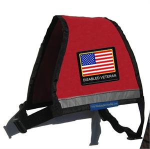 Disabled Veteran Zipper Vest