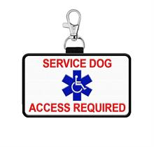 Service Dog Hanging Patch Tag for vest