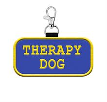 Therapy Dog Hanging Patch Tag
