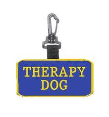 Therapy Dog Patch Tag