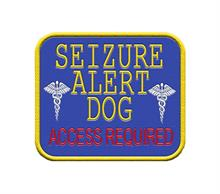 Seizure Alert Dog Patch