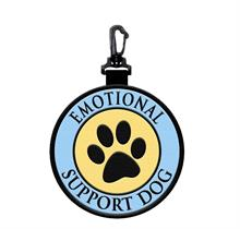 Emotional Support Dog Hanging Patch Clip