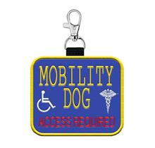 Mobility Dog Patch Tag