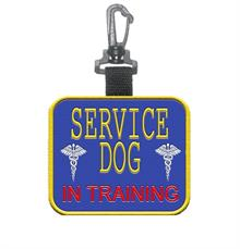 Service Dog In Training Patch Tag