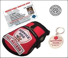 Basic Service Dog Registration Kit