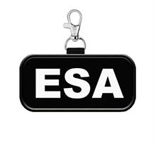 ESA Hanging Patch Tag for Vest or Leash