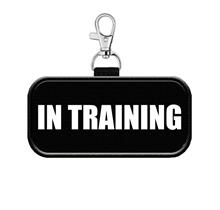 in training service dog tag