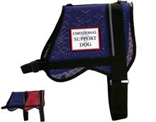 Blue Mesh Emotional Support Dog Vest