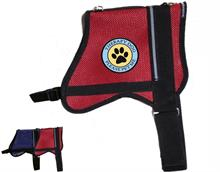Red Mesh Therapy Dog Vest