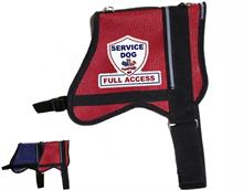 Mesh Full Access Service Dog Vest