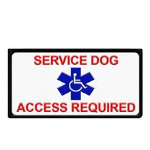 Service Dog  Access Required Patch