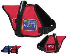 Hearing Dog Padded Vest