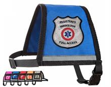 Blue Reflective Registered Service Dog Vest