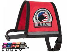 Red Premium Emotional Support Dog Vest