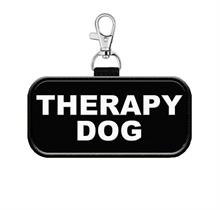 Therapy Dog Hanging Patch Tag for Vest or Leash