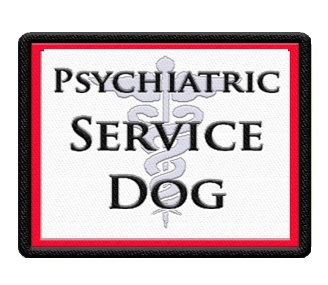 PSYCHIATRIC SERVICE DOG PATCH