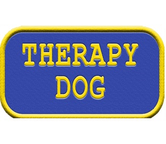 Therapy Dog Patch