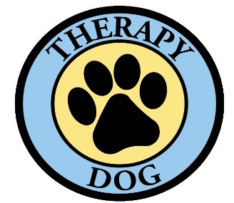 Therapy Dog Window Decal