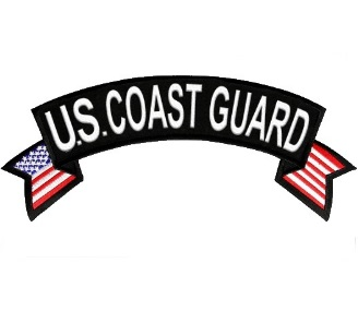 U.S. Coast Guard Rocker Patch